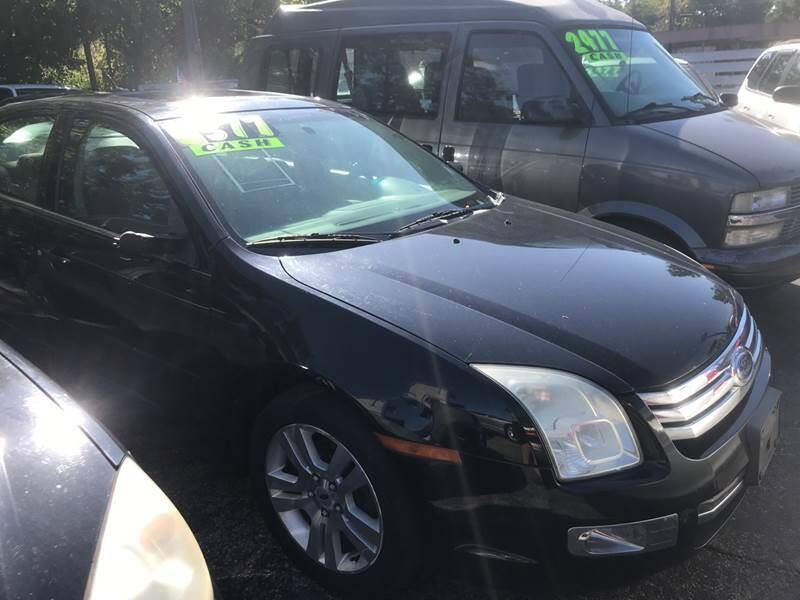 2008 Ford Fusion for sale at Klein on Vine in Cincinnati OH