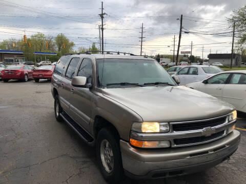 2002 Chevrolet Suburban for sale at Drive Max Auto Sales in Warren MI