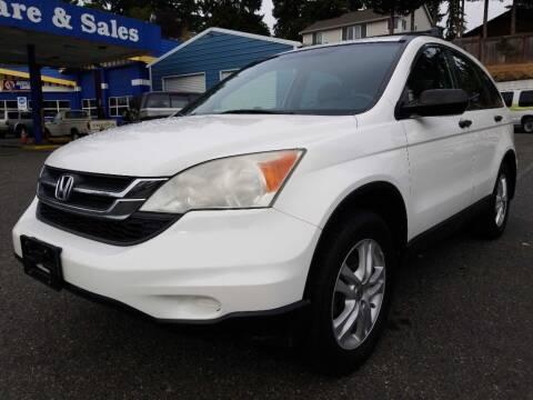 2011 Honda CR-V for sale at Shoreline Family Auto Sales in Shoreline WA