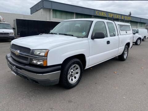 2005 Chevrolet Silverado 1500 for sale at Vista Auto Sales in Lakewood WA
