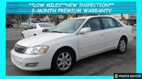 2002 Toyota Avalon for sale at 2010 Auto Sales in Glassport PA