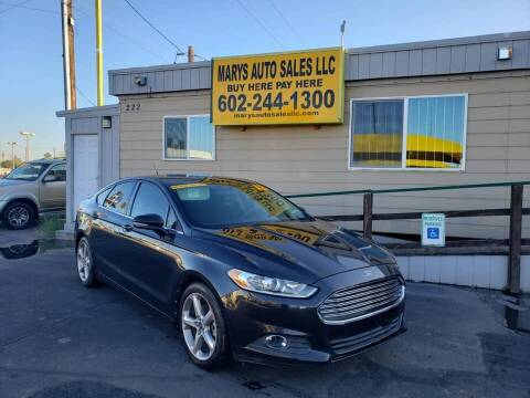 2013 Ford Fusion for sale at Marys Auto Sales in Phoenix AZ