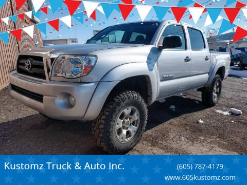 2010 Toyota Tacoma for sale at Kustomz Truck & Auto Inc. in Rapid City SD