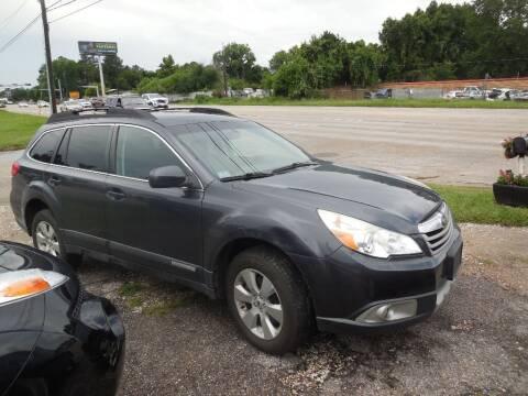 2011 Subaru Outback for sale at SCOTT HARRISON MOTOR CO in Houston TX