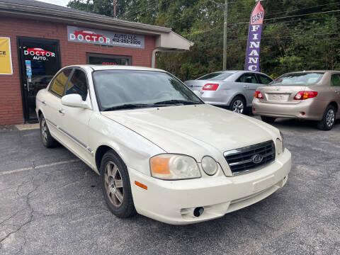 2004 Kia Optima for sale at Doctor Auto in Cecil PA
