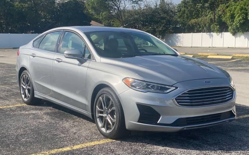 2020 Ford Fusion for sale at Guru Auto Sales in Miramar FL