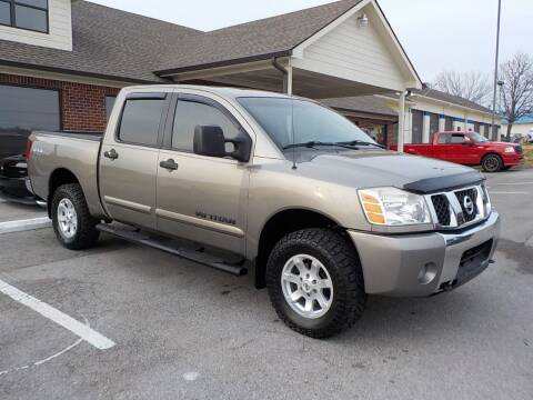 2007 Nissan Titan for sale at C & C MOTORS in Chattanooga TN