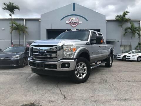 2014 Ford F-350 Super Duty for sale at Ven-Usa Autosales Inc in Miami FL