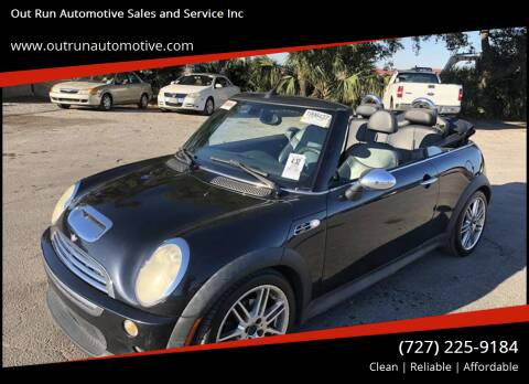 2006 MINI Cooper for sale at Out Run Automotive Sales and Service Inc in Tampa FL