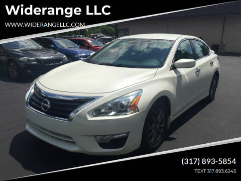 2015 Nissan Altima for sale at Widerange LLC in Greenwood IN