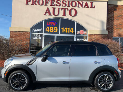 2016 MINI Countryman for sale at Professional Auto Sales & Service in Fort Wayne IN