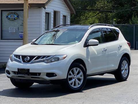 2012 Nissan Murano for sale at Kugman Motors in Saint Louis MO