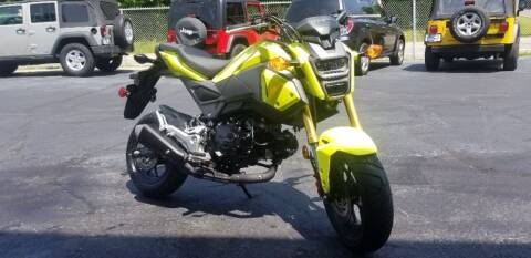 2017 Honda GROM for sale at Bill's & Son Auto/Truck Inc in Ravenna OH