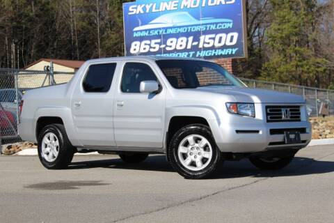 2006 Honda Ridgeline for sale at Skyline Motors in Louisville TN