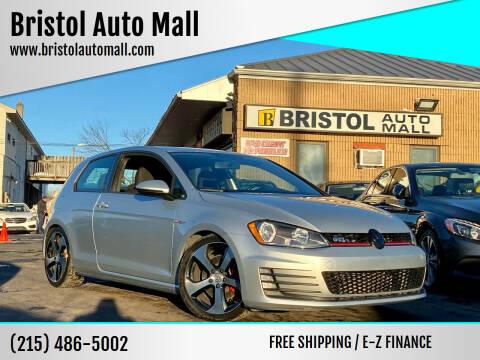 2016 Volkswagen Golf GTI for sale at Bristol Auto Mall in Levittown PA
