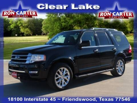 2017 Ford Expedition for sale at Ron Carter  Clear Lake Used Cars in Houston TX
