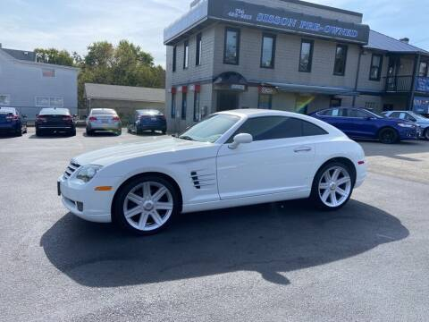 2004 Chrysler Crossfire for sale at Sisson Pre-Owned in Uniontown PA
