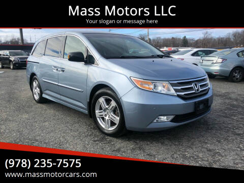 2011 Honda Odyssey for sale at Mass Motors LLC in Worcester MA
