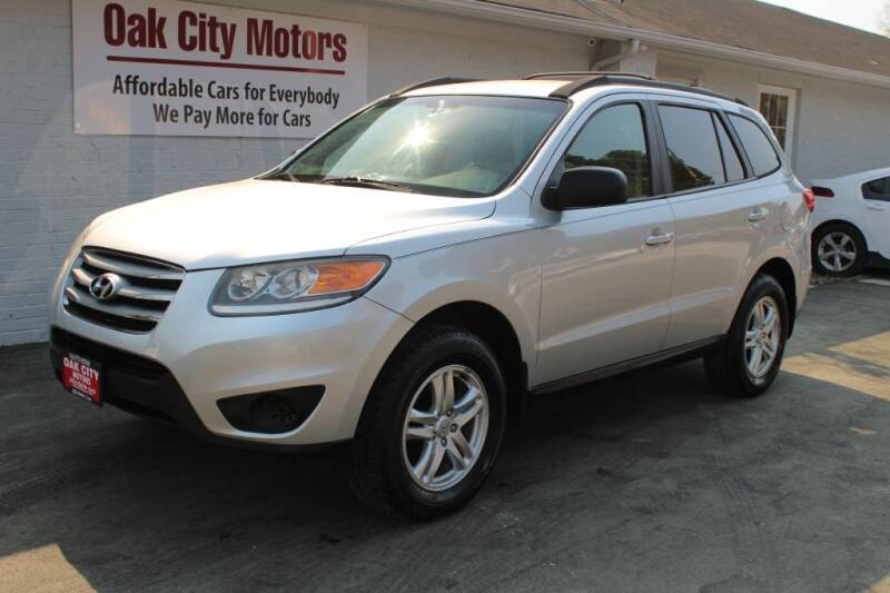 2012 Hyundai Santa Fe for sale at Oak City Motors in Garner NC