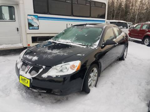 2008 Pontiac G6 for sale at Jeff's Sales & Service in Presque Isle ME