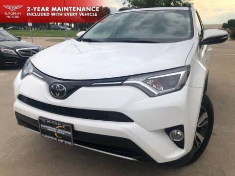 2018 Toyota RAV4 for sale at European Motors Inc in Plano TX