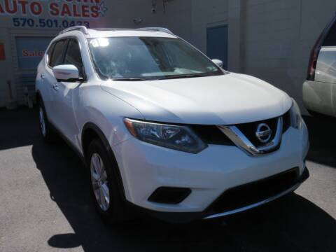 2015 Nissan Rogue for sale at Small Town Auto Sales in Hazleton PA
