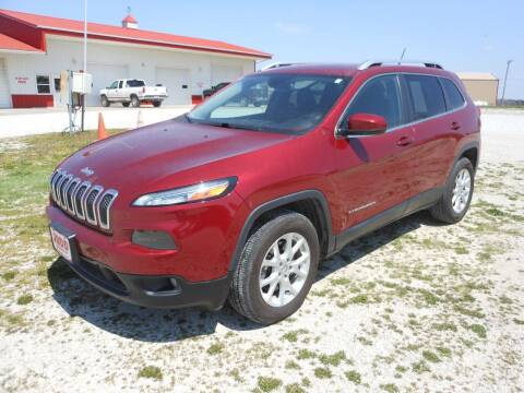 2015 Jeep Cherokee for sale at JUDD MOTORS INC in Lancaster MO