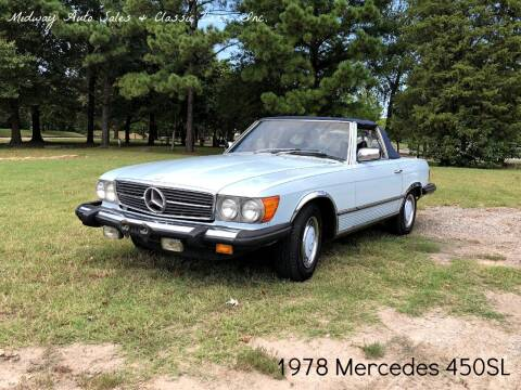 1978 Mercedes-Benz 450 SL for sale at MIDWAY AUTO SALES & CLASSIC CARS INC in Fort Smith AR