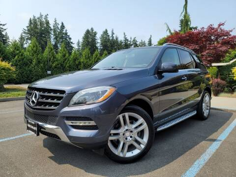 2013 Mercedes-Benz M-Class for sale at Silver Star Auto in Lynnwood WA