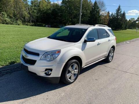 2015 Chevrolet Equinox for sale at Aleid Auto Sales in Cudahy WI