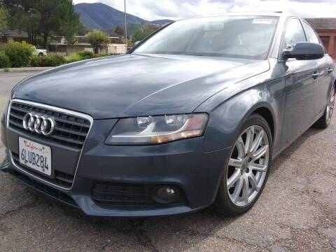 2010 Audi A4 for sale at Trini-D Auto Sales Center in San Diego CA