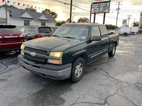 2004 Chevrolet Silverado 1500 for sale at Autohub of Virginia in Richmond VA