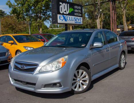 2012 Subaru Legacy for sale at EXCLUSIVE MOTORS in Virginia Beach VA