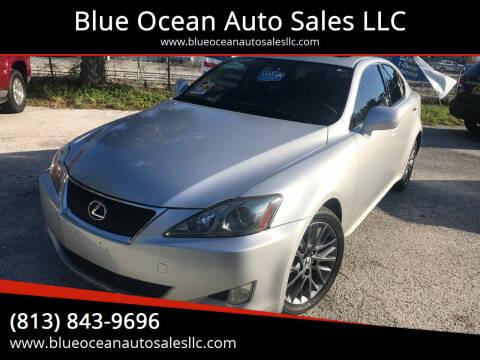 2007 Lexus IS 250 for sale at Blue Ocean Auto Sales LLC in Tampa FL