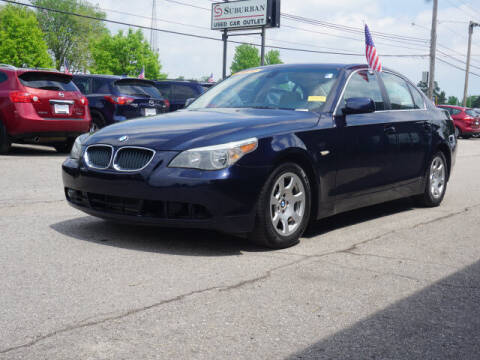 2004 BMW 5 Series for sale at Suburban Chevrolet of Ann Arbor in Ann Arbor MI