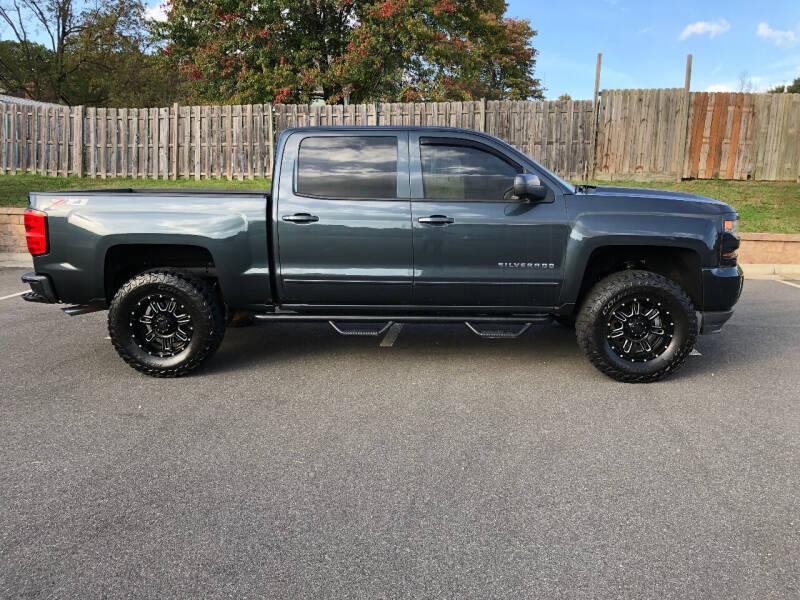 2017 Chevrolet Silverado 1500 for sale at Superior Wholesalers Inc. in Fredericksburg VA
