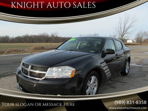 2010 Dodge Avenger for sale at KNIGHT AUTO SALES in Stanton MI