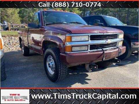 1998 Chevrolet C/K 2500 Series for sale at TTC AUTO OUTLET/TIM'S TRUCK CAPITAL & AUTO SALES INC ANNEX in Epsom NH