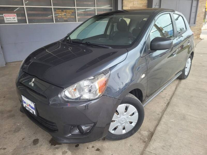 2015 Mitsubishi Mirage for sale at Car Planet Inc. in Milwaukee WI