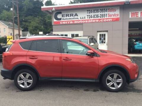 2015 Toyota RAV4 for sale at Cerra Automotive LLC in Greensburg PA