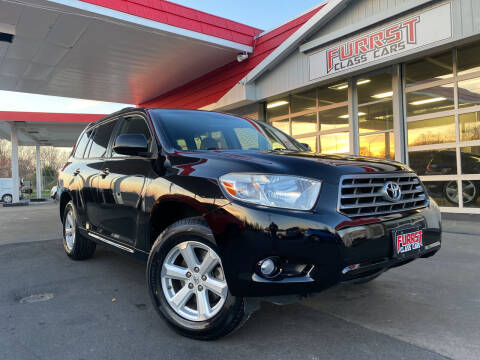 2010 Toyota Highlander for sale at Furrst Class Cars LLC  - Independence Blvd. in Charlotte NC