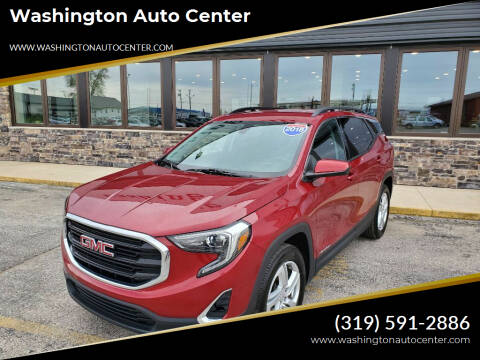 2018 GMC Terrain for sale at Washington Auto Center in Washington IA