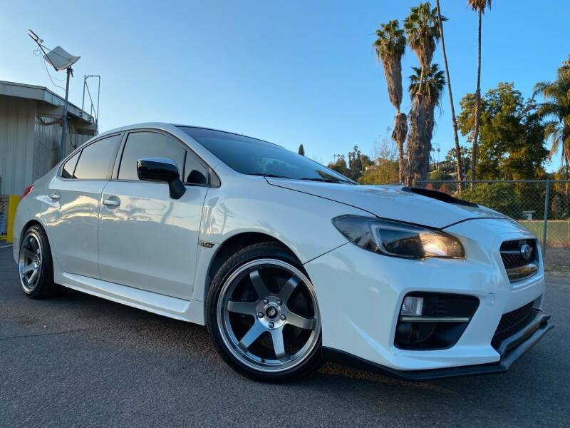 2017 Subaru WRX for sale at Imports Auto Outlet in Spring Valley CA