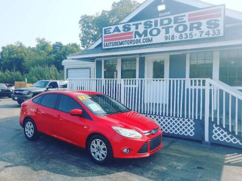 2012 Ford Focus for sale at EASTSIDE MOTORS in Tulsa OK