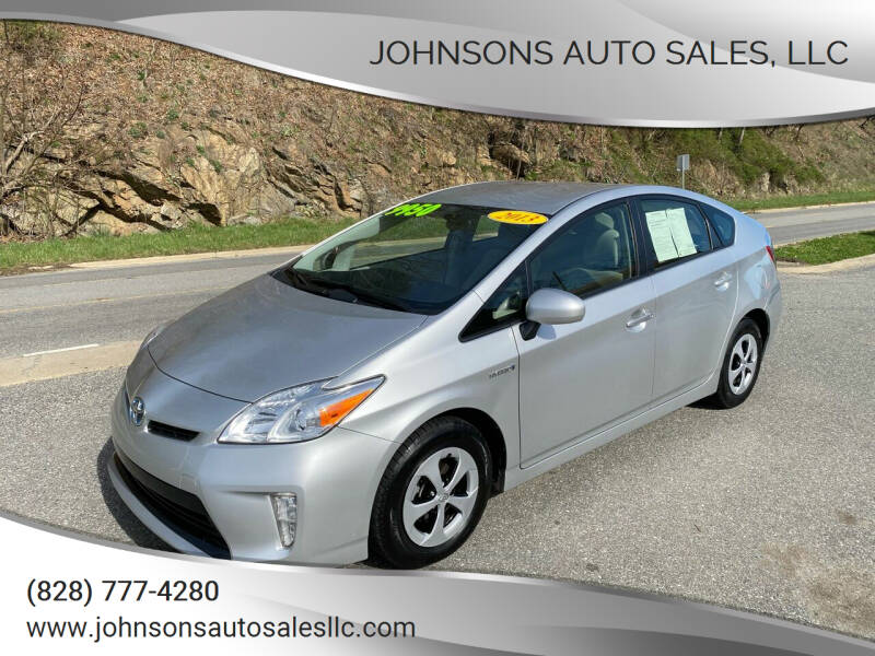 2013 Toyota Prius for sale at Johnsons Auto Sales, LLC in Marshall NC