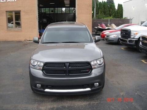 2013 Dodge Durango for sale at Marx Auto Sales in Livonia MI