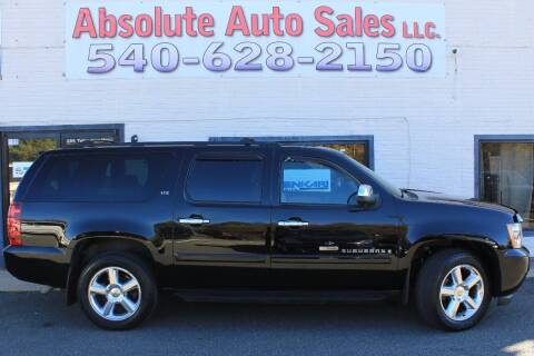 2007 Chevrolet Suburban for sale at Absolute Auto Sales in Fredericksburg VA