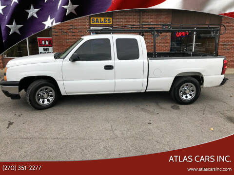 2008 Chevrolet Silverado 1500 for sale at Atlas Cars Inc. in Radcliff KY