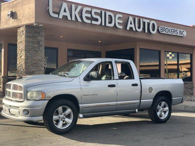 2004 Dodge Ram Pickup 1500 for sale at Lakeside Auto Brokers Inc. in Colorado Springs CO