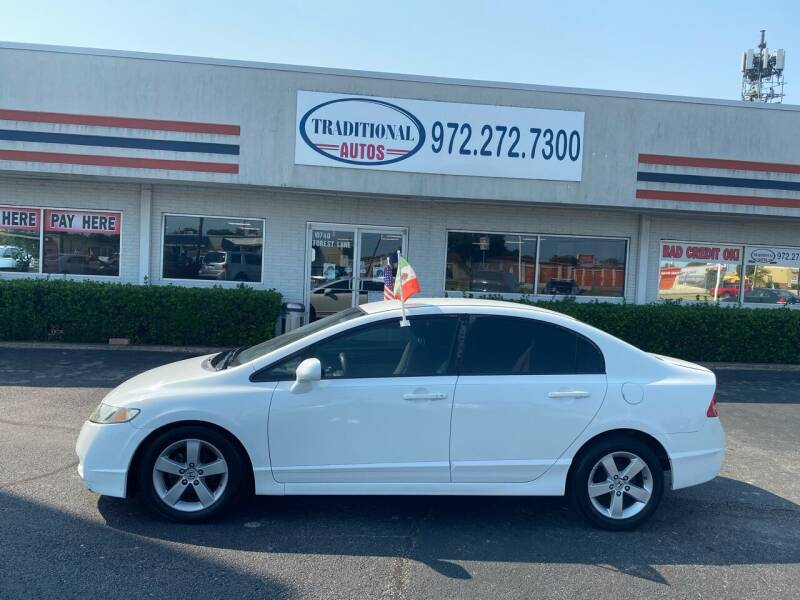 2010 Honda Civic for sale at Traditional Autos in Dallas TX
